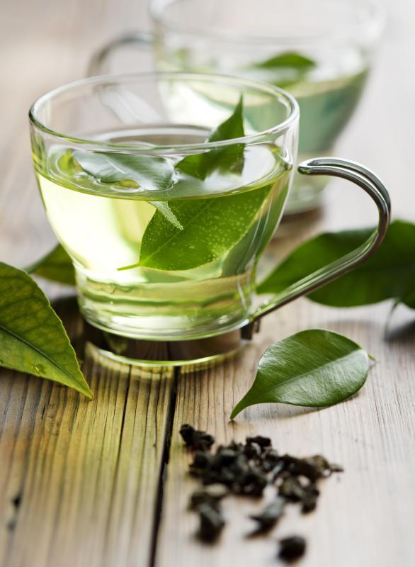 Green tea contains antiviral properties.
