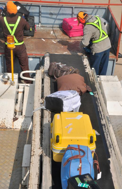 Most baggage handlers receive on the job training and must be in good