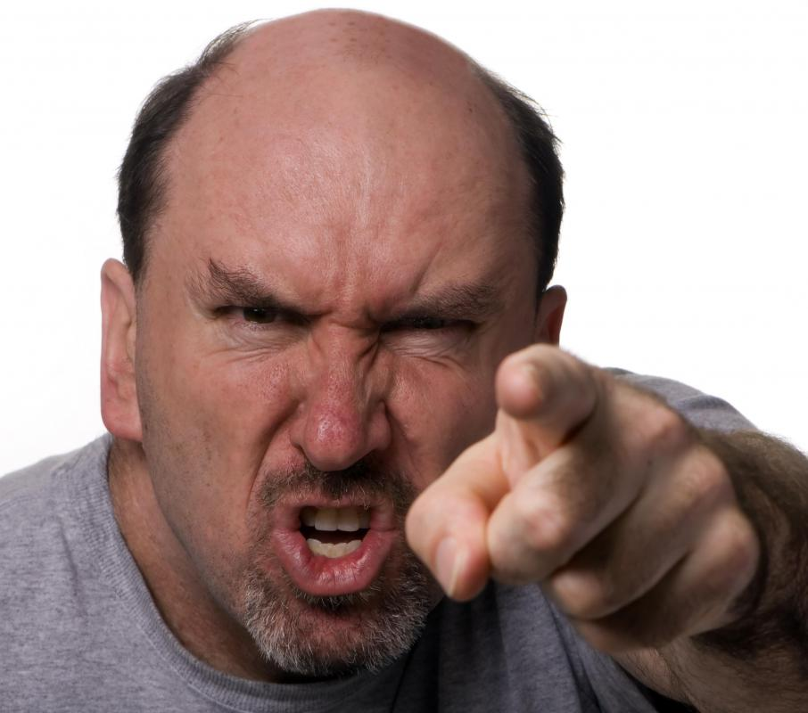 Angry in American English