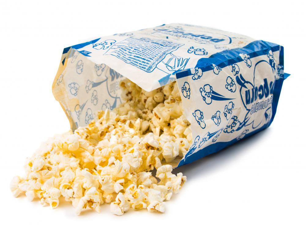 Popcorn in the microwave