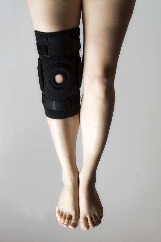swollen knee cap
