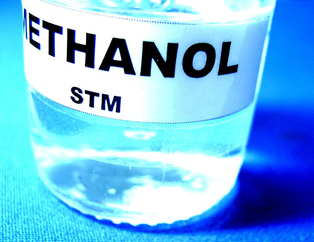 Methanol is poisonous to humans, even in small concentrations.