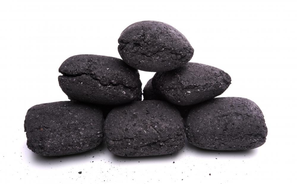 Lump of Coal Drawing Hot Charcoal
