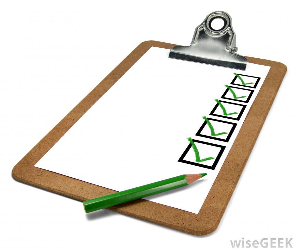 Go Back > Gallery For > Checklist Clipboard