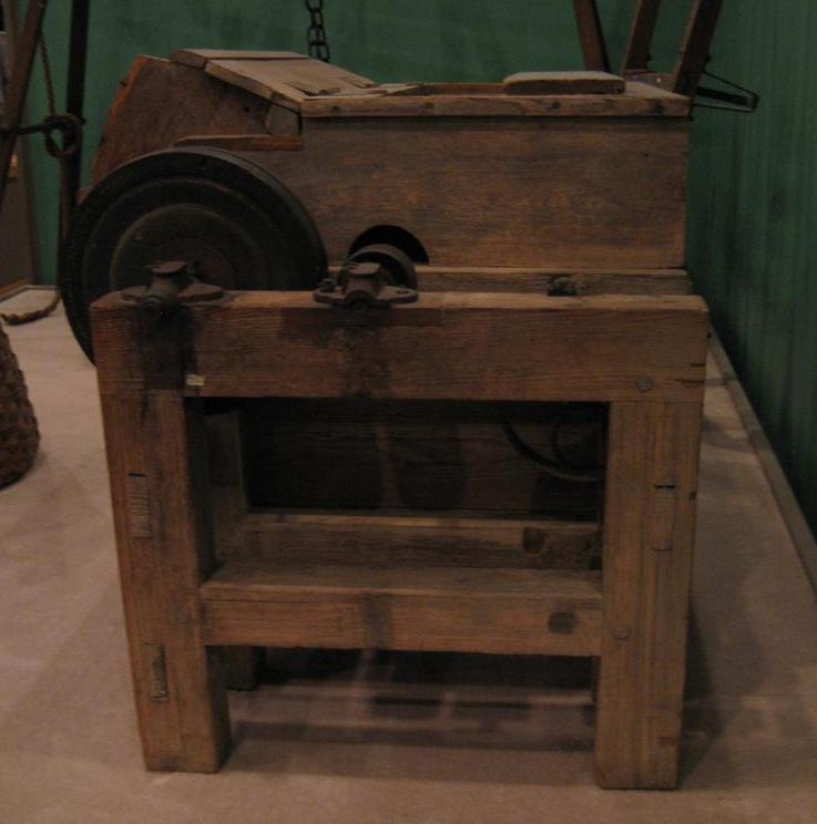 Eli Whitney patented his cotton gin in 1794.