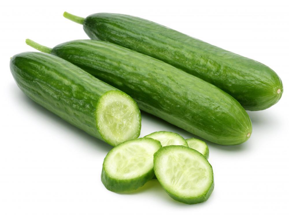 cucumbers contain vitamins c and a calcium and folic acid