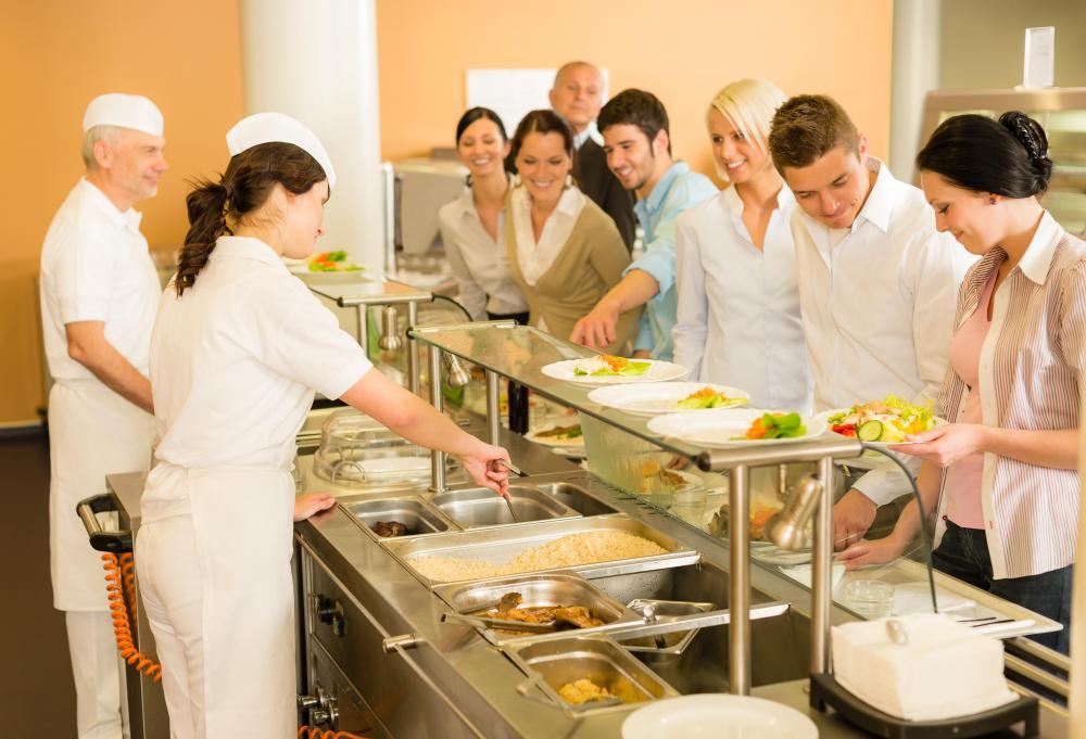 Schools, hospitals and offices need food service directors.