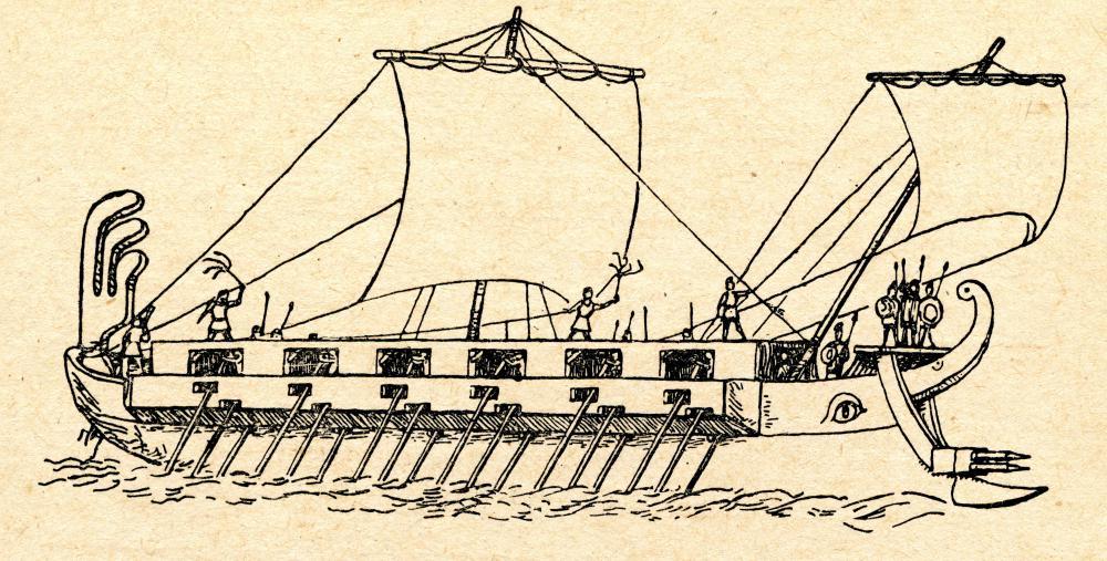 Peloponnesian War Drawings During The Persian Wars