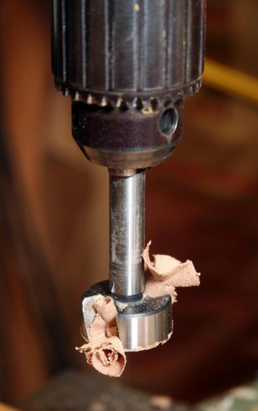 forstner bit for metal. a drill with forstner bit. bit for metal