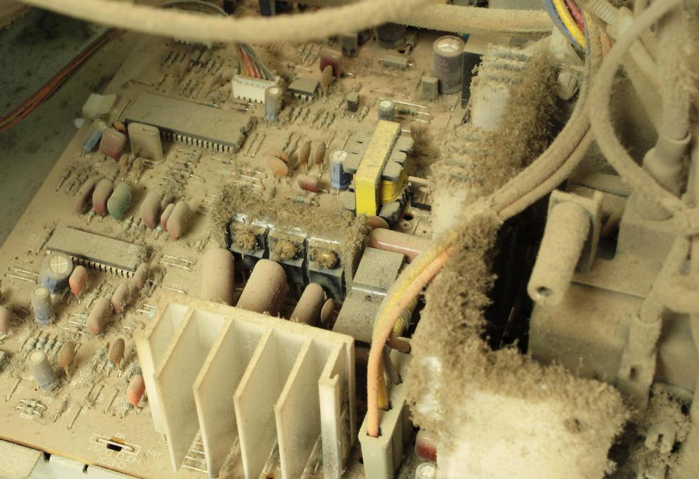 Excessive dust, moisture, heat, and power surges can all fry a motherboard.