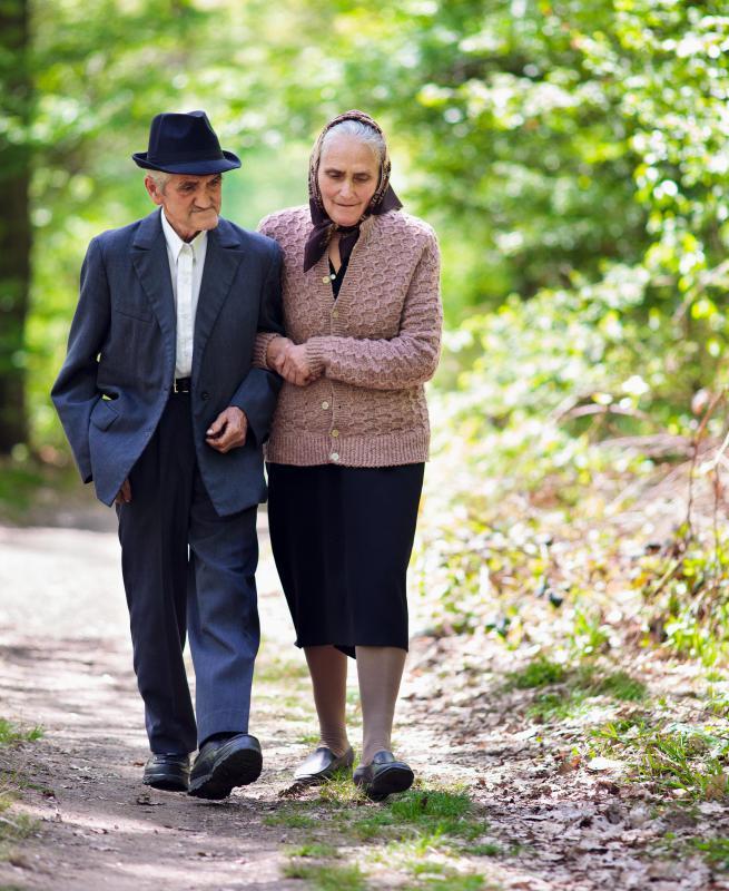 elderly man walking - photo #18