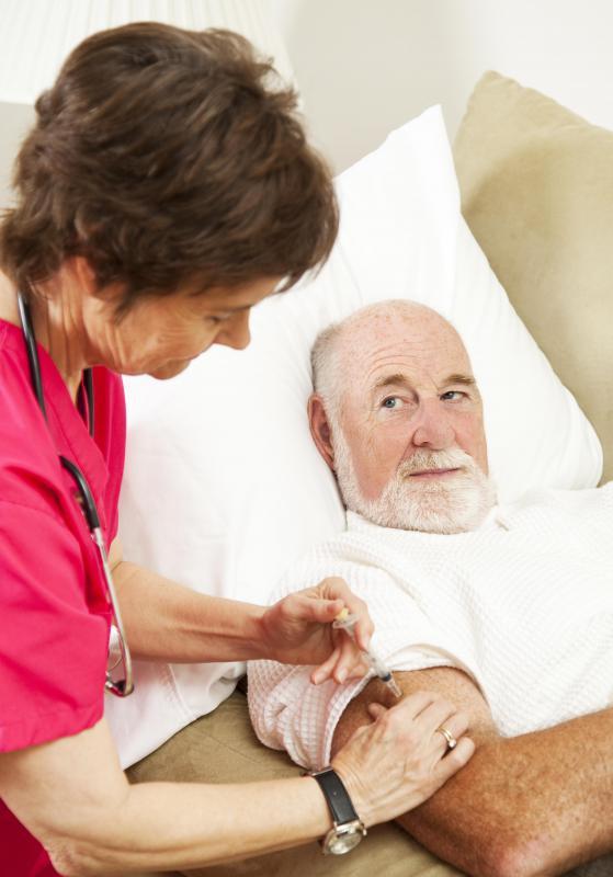 what does a home health nurse do
