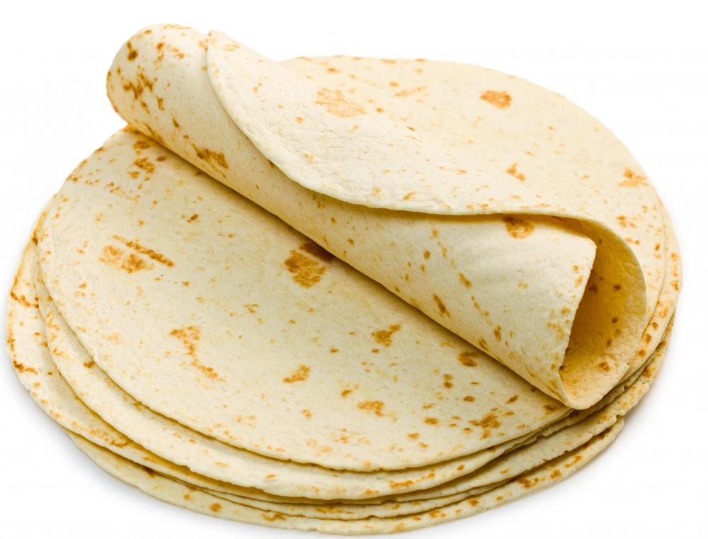 Flour tortillas came about after corn tortillas.