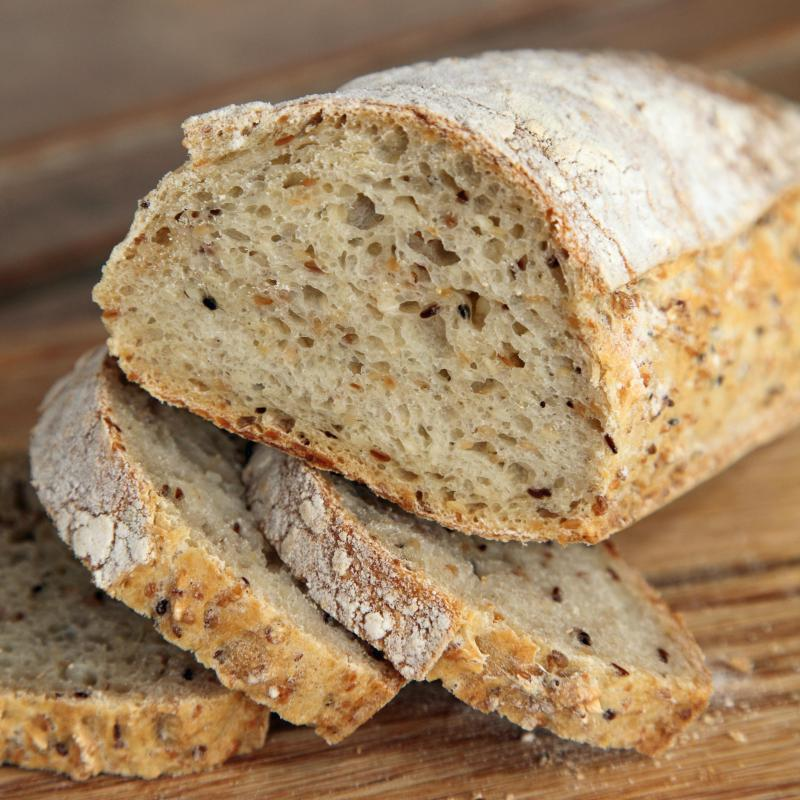 Bread With Sesame Seeds In It