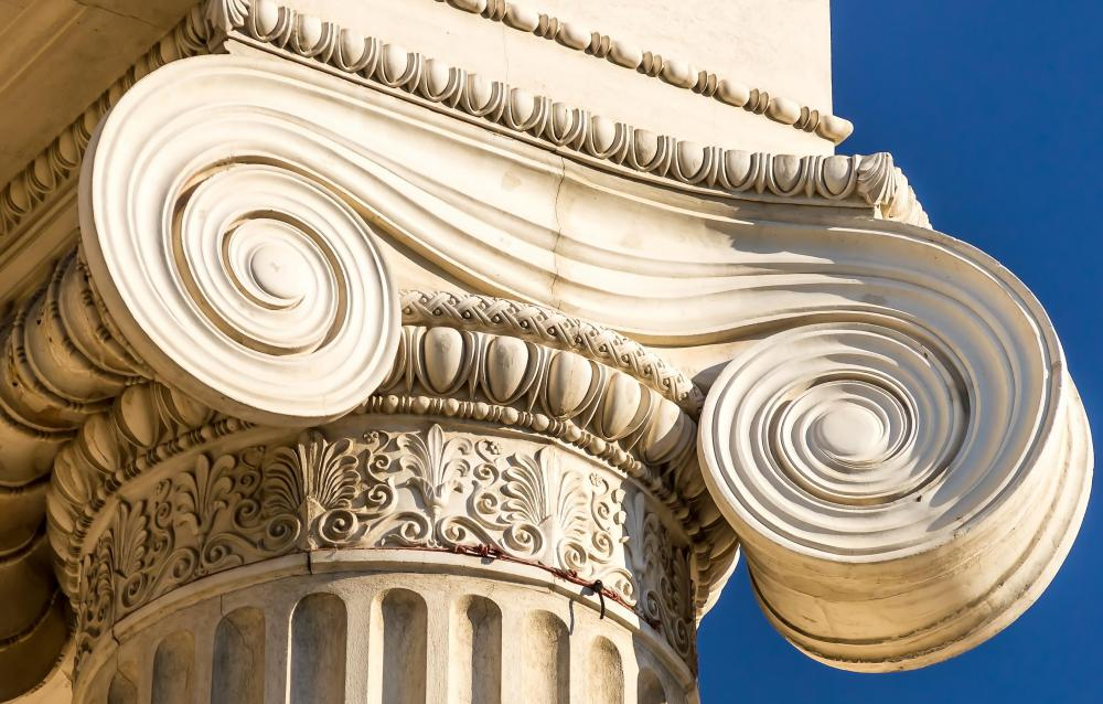 Greek architecture columns
