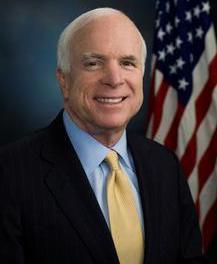 Sen. John McCain headed up the Republican's presidential ticket in 2008.