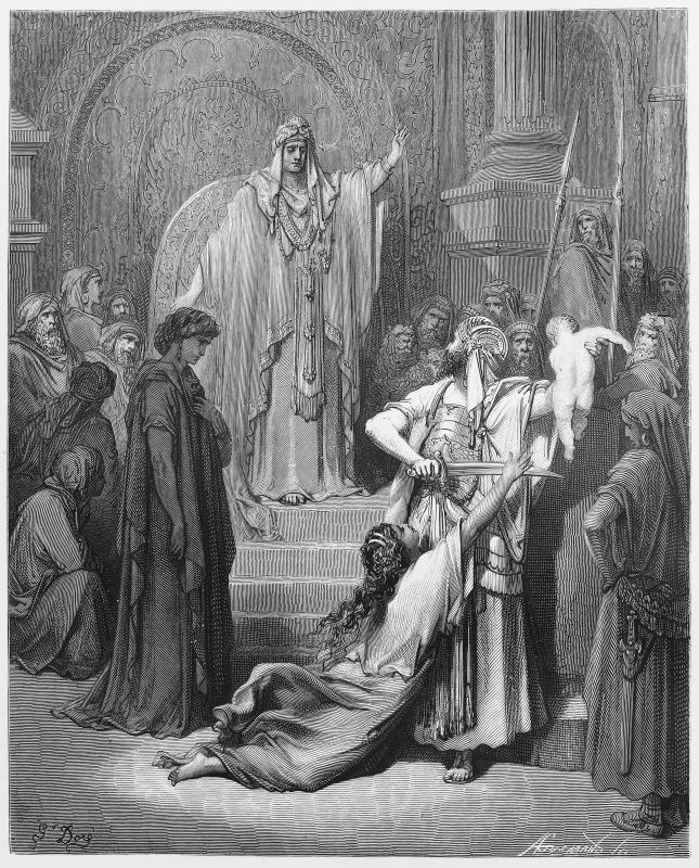 Wisdom examples solomons King Solomon's
