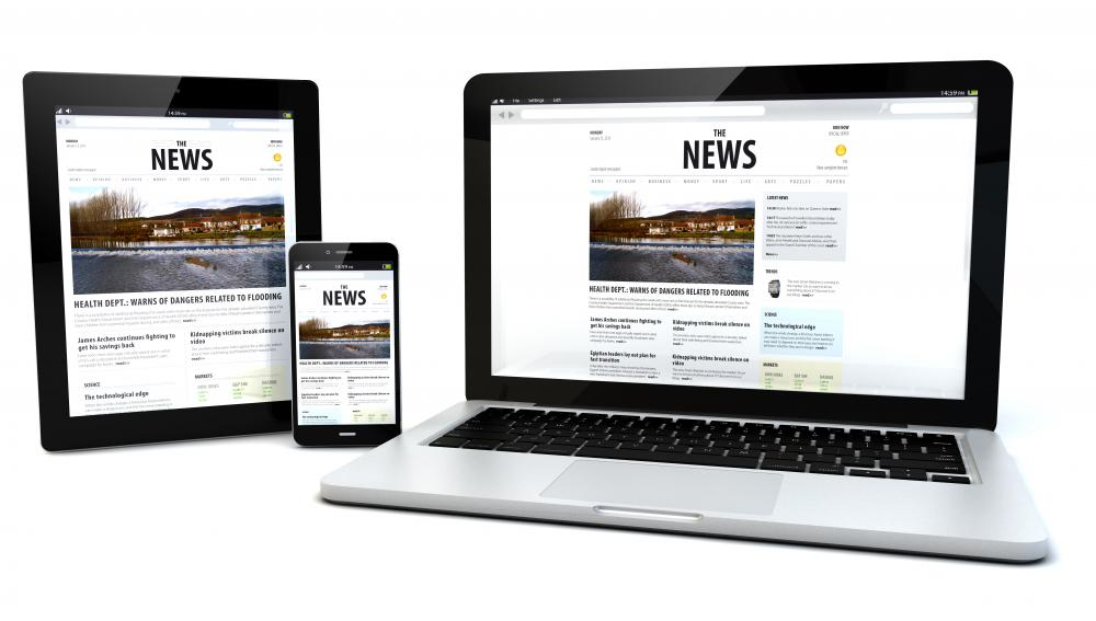 Websites are considered new media because they convey information through digital and computerized technologies.