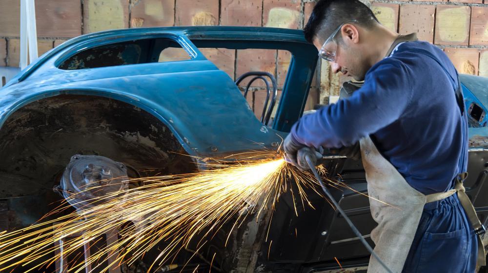 Welders may perform custom work on cars.