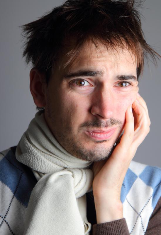 Facial edema treatment the