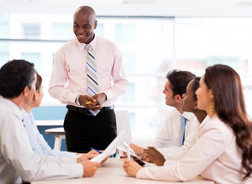 Meeting coordinators have varied duties, often scheduling speakers and ...