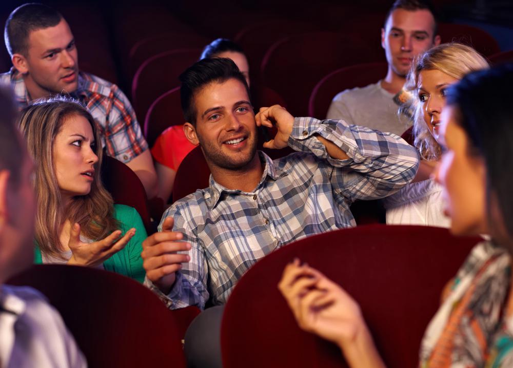 Movie date etiquette