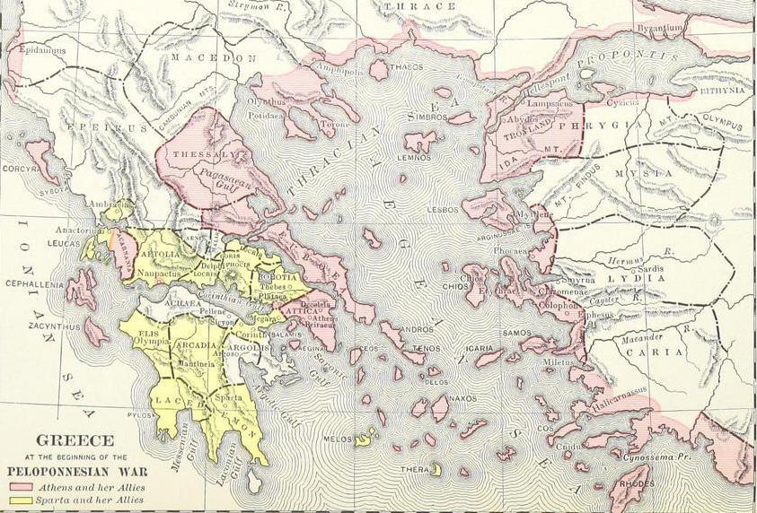 the peloponnesian war essay