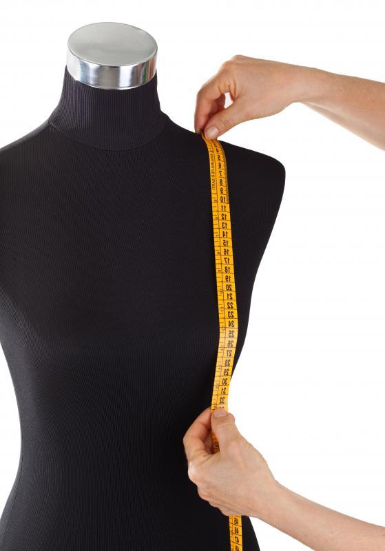 Ilustrasi mengukur tubuh