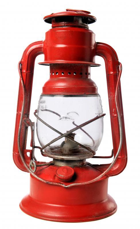 A Kerosene Lantern.