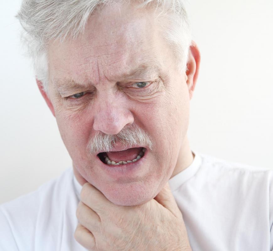 throat old
