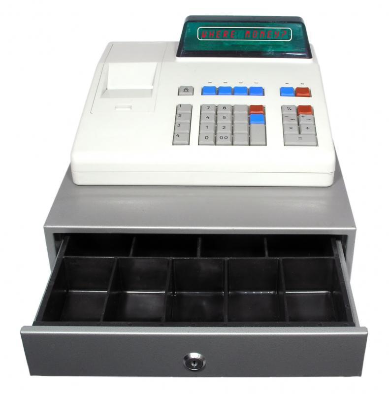 petty cash register