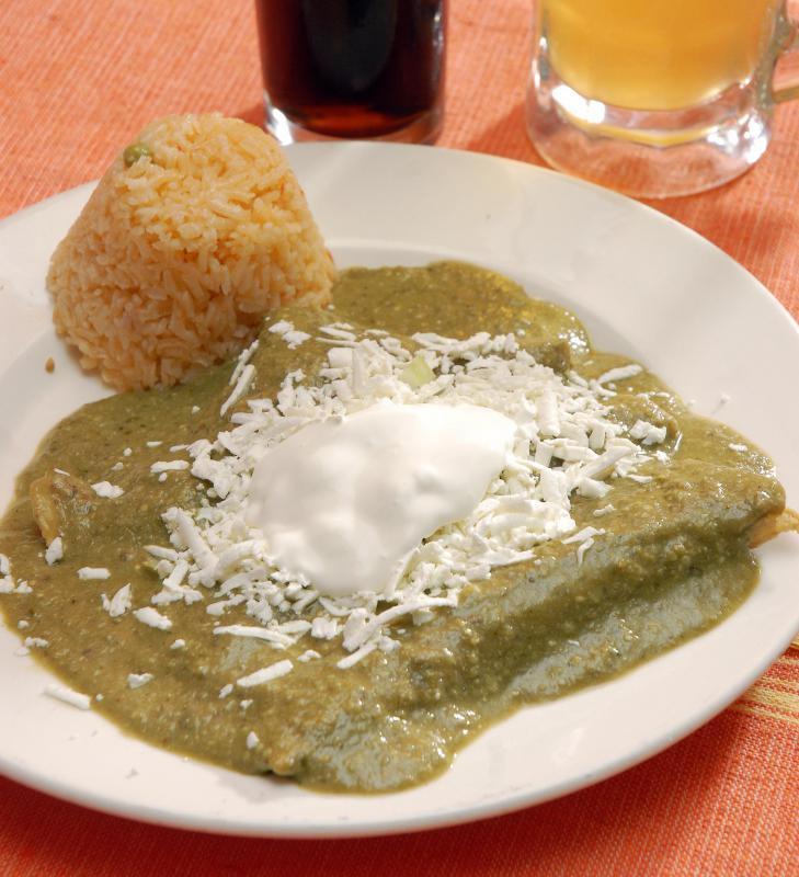 Egg Enchiladas In Pipian Recipes — Dishmaps