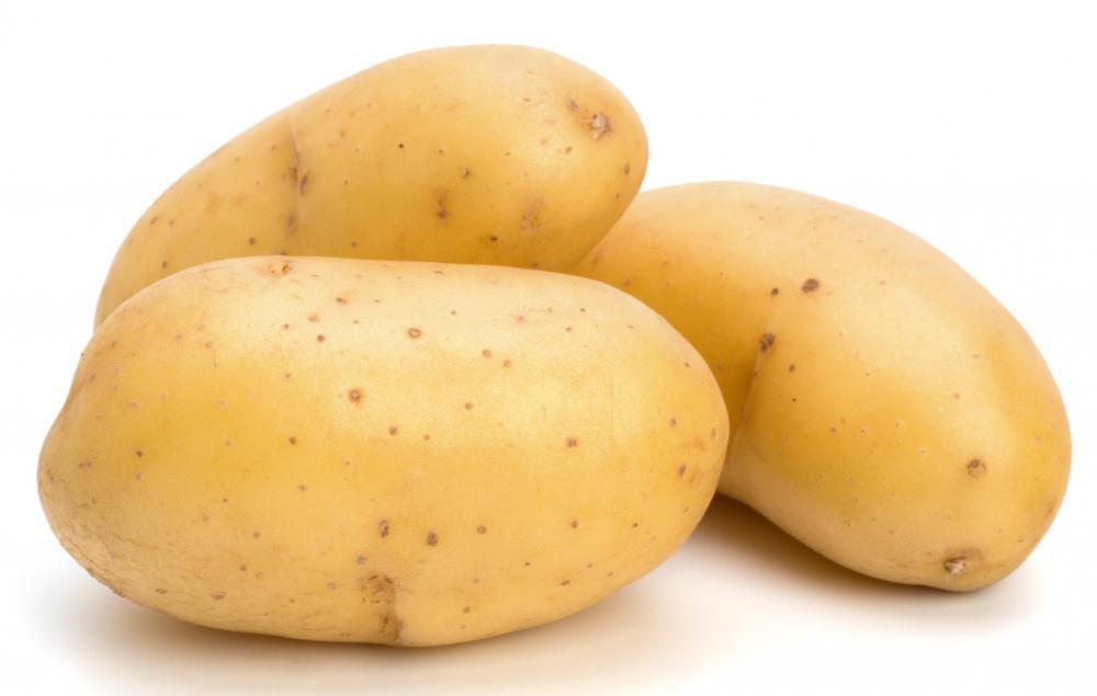 Various types of potat...