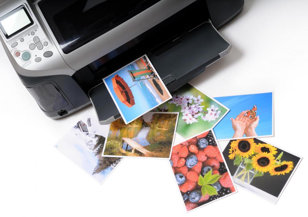 Effortless image in printable photo paper