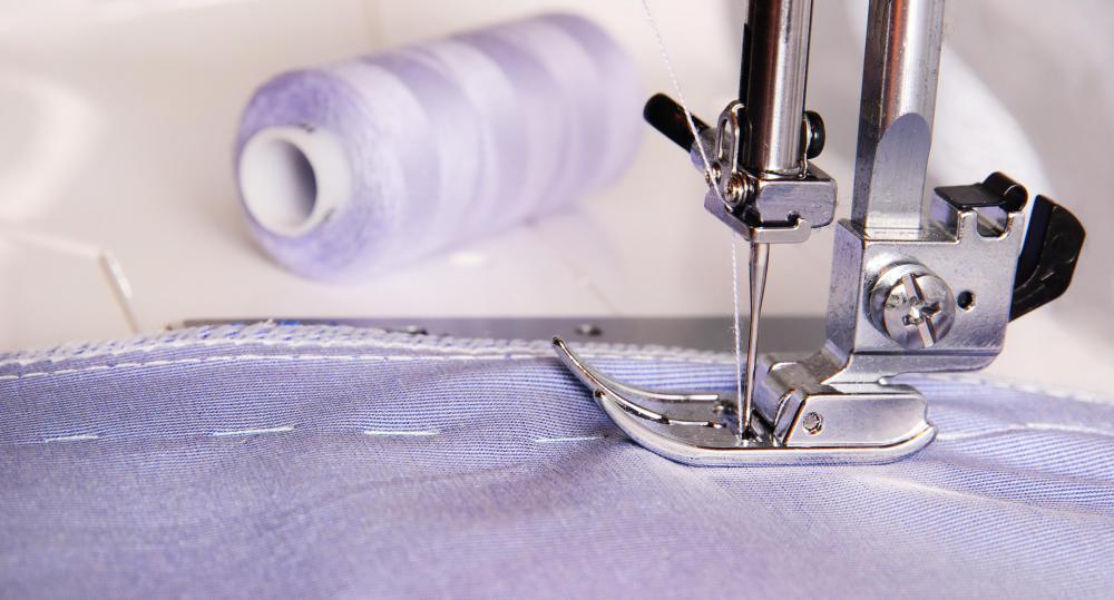 machine basting stitch