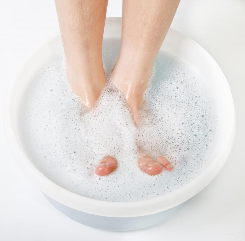 soaking feet Gallery