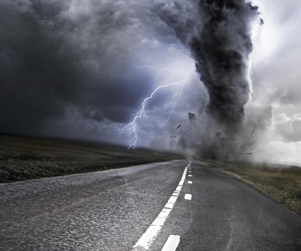 When Tornadoes Are Predicted It Is Best To Find A Safe Place Away From Windows
