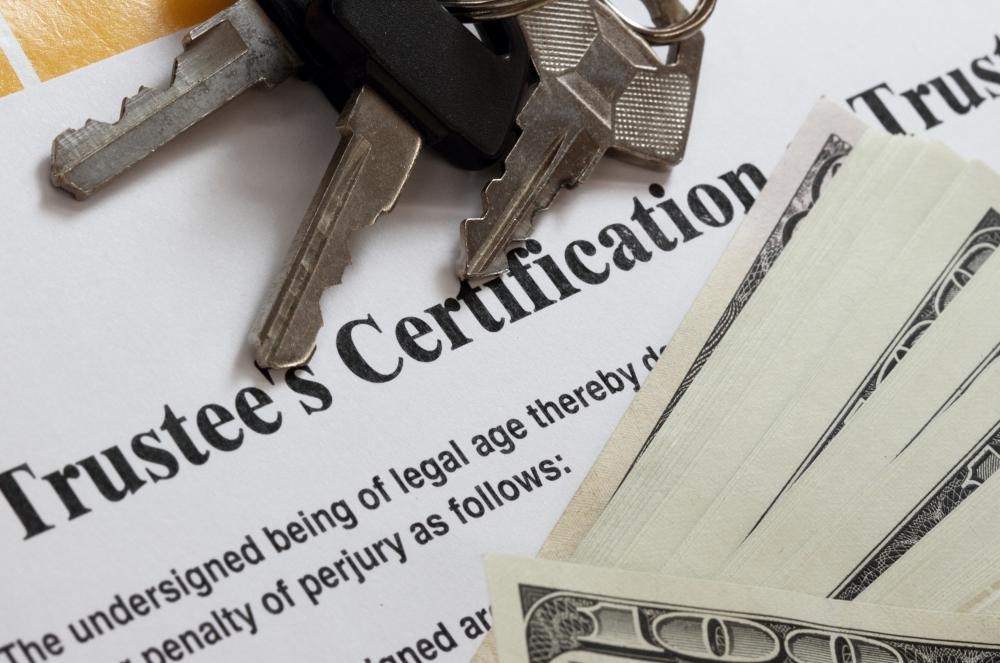 What Is A Trust Certificate With Pictures
