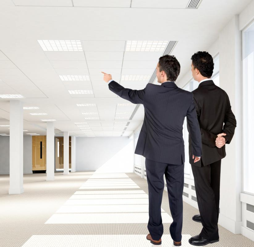 Commercial property manager serves as a liason between the owner and