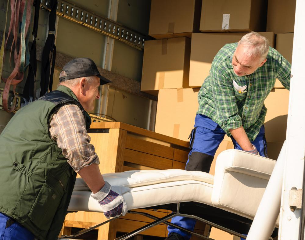 furniture movers must be strong and healthy enough to lift heavy loads