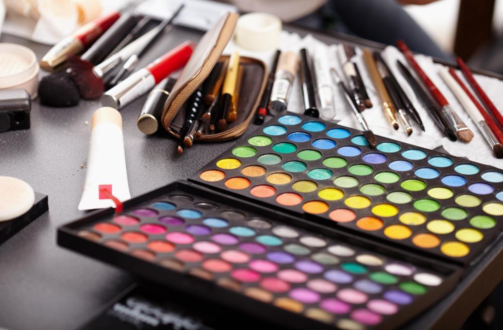of Makeup Artist Supplies
