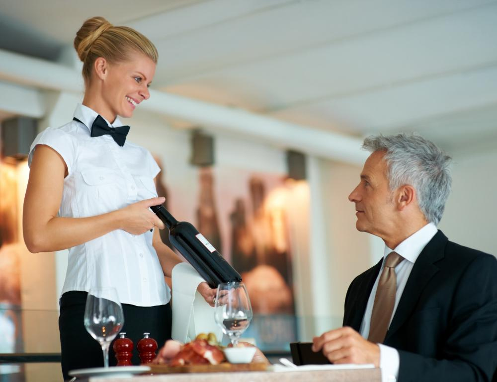 Pics For > Waitress Serving Drinks
