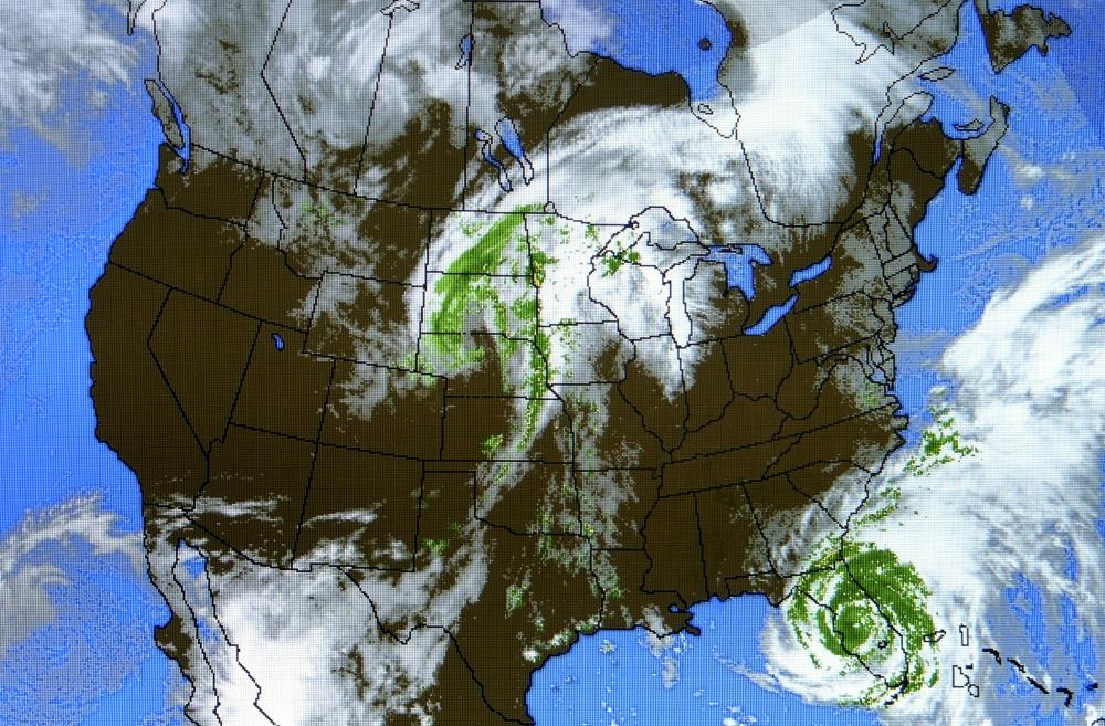 What Is A Meteorologist With Pictures - Weather map across the us