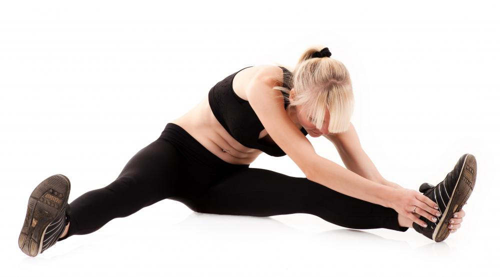 Stretching before exercising may help prevent lose knee from occurring.