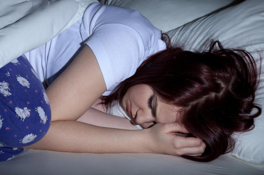Teen Suffering From Sleep 45