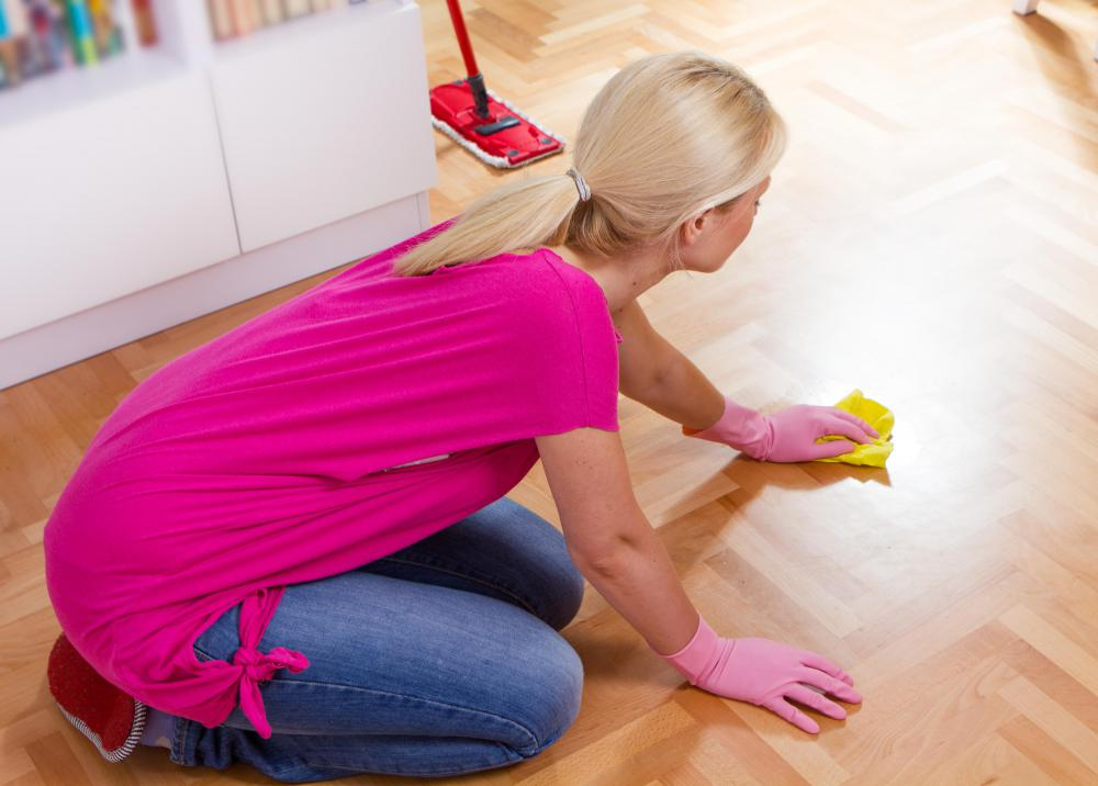 It May Be Helpful To Test Cleaner On A Small Piece Of Floor Before Cleaning  The Whole Surface.