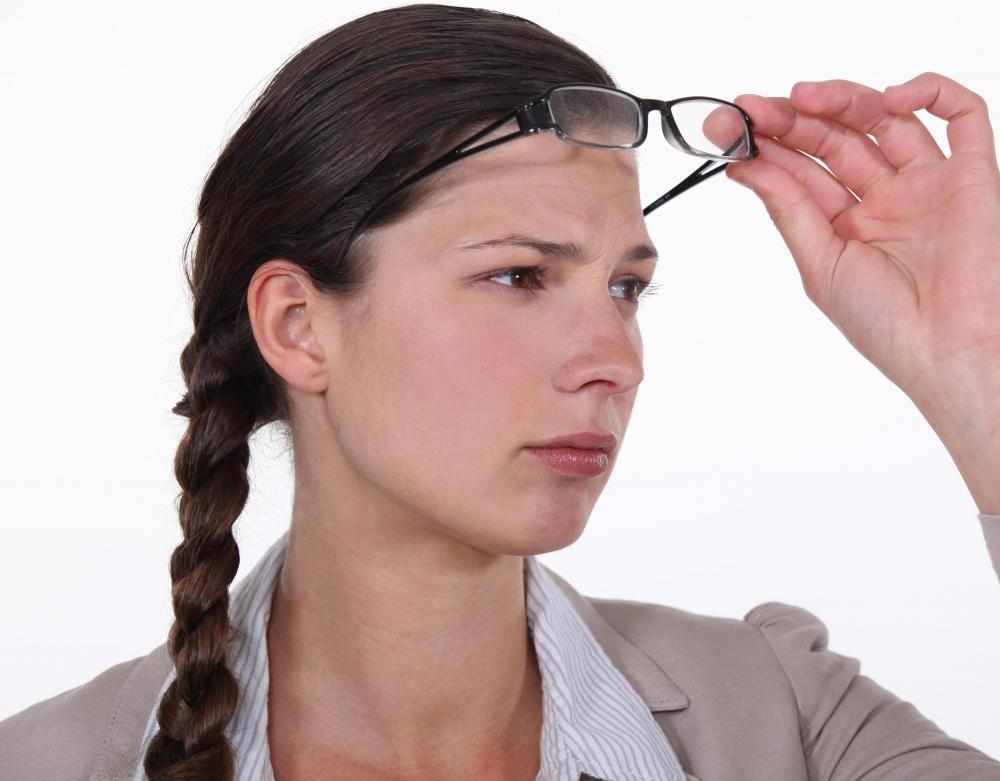 migraine vision normal vision