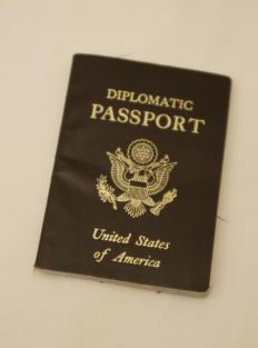 A diplomatic passport.