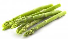 Oligosaccharides are found in asparagus.
