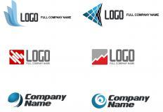 Assorted brand logos.